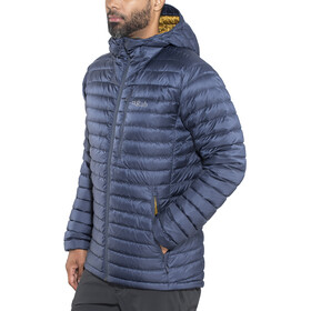 Rab Microlight Alpine Long Jacket Men Deep Ink/Footprint
